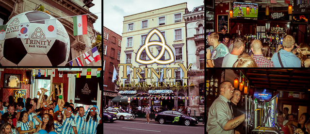 Trinity Bar and Venue sports bar Dublin